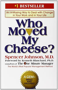 """Who Moved My Cheese"" Book Cover"