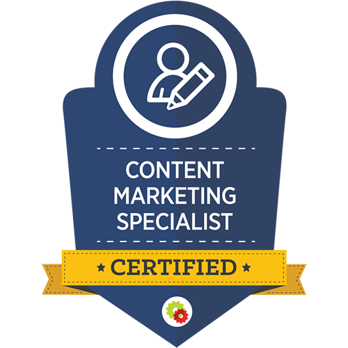 Digital Marketer - Content Marketing Specialist Certification