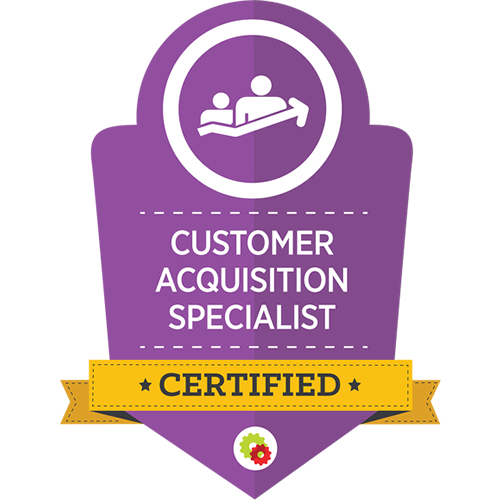 Digital Marketer - Customer Acquisition Specialist Certification