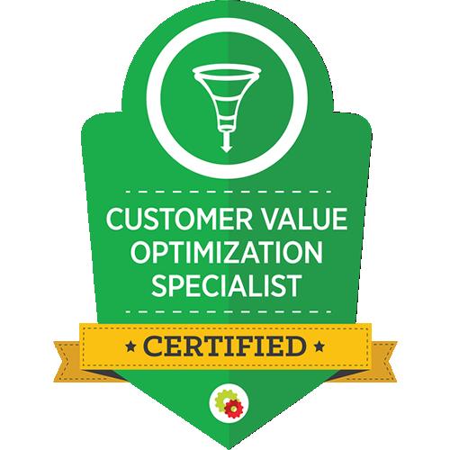 Digital Marketer - Customer Value Optimization Specialist Certification