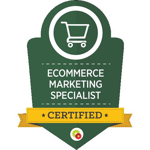 Digital Marketer - Ecommerce Marketing Specialist Certification