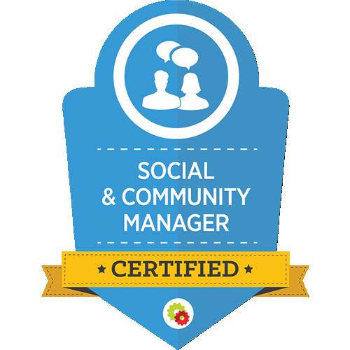 Digital Marketer - Social & Community Manager Certification
